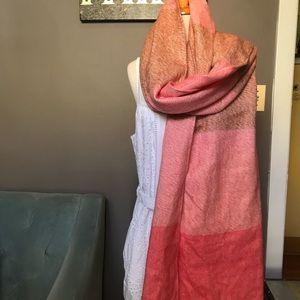 MWT Loft long scarf orange and the rust